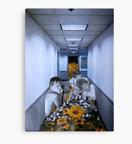 The Boys In The Hall Canvas Print