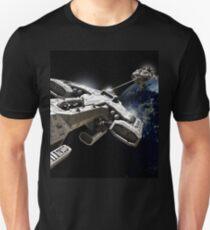 Space Battle Unisex T-Shirt