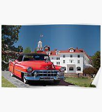 1953 Cadillac Eldorado Convertible Poster