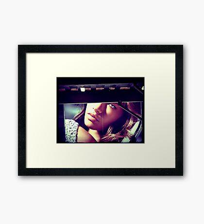 Momentary Glimpse Framed Print