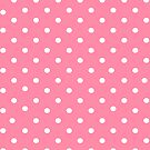 Pink polkadot ipad case by PixelRider