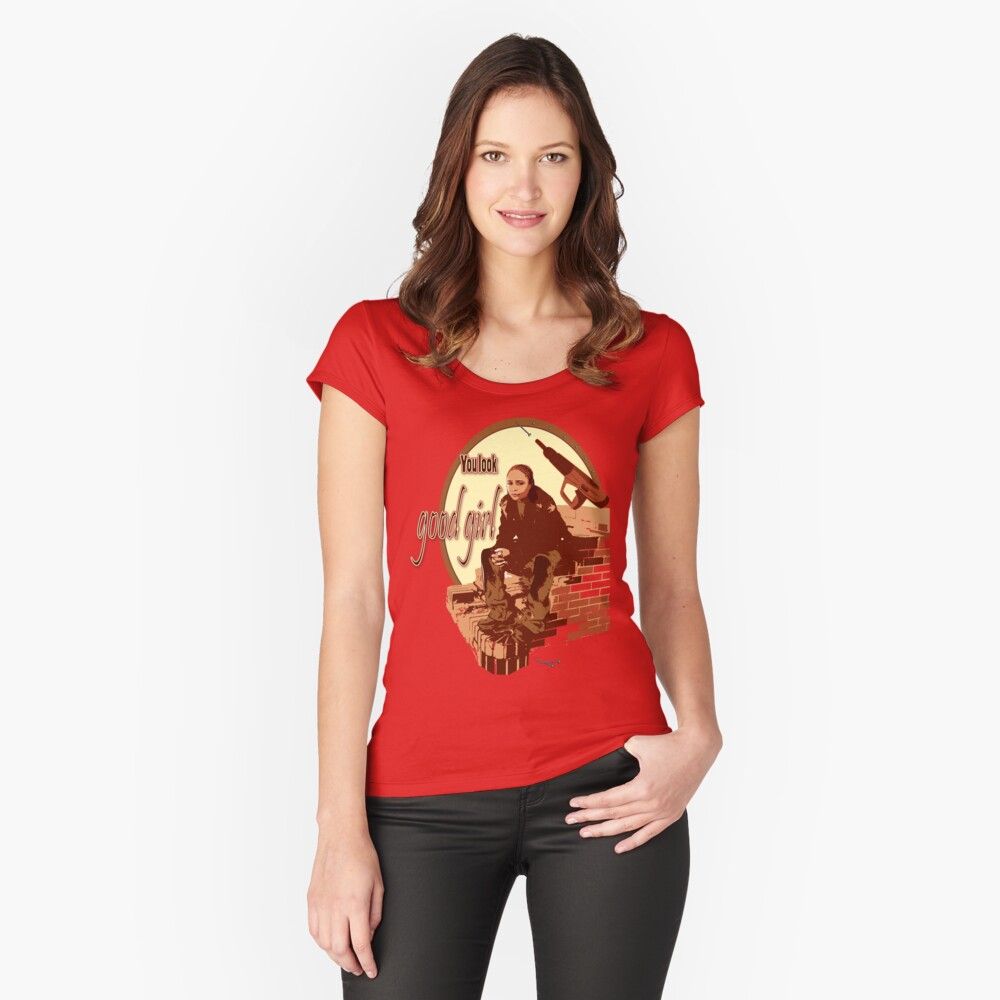 Snoop The Wire   Snoop S Tee The Wire Women S Fitted Scoop T Shirt By Galit