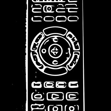 Control design in white on black by Gabs2