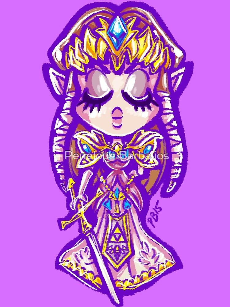 Chibi Princess Zelda by Penelope Barbalios