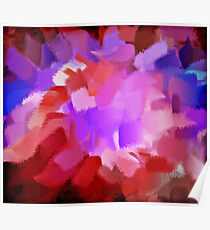 Abstract Art Painting 4 Poster