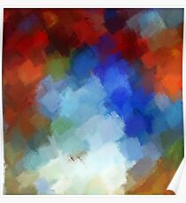 Abstract Art Painting 6 Poster