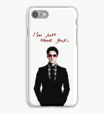 Just Some Guy iPhone Case/Skin