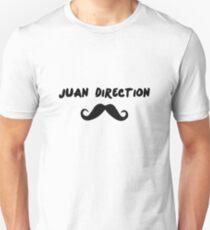 Juan Direction | With Moustache! Unisex T-Shirt