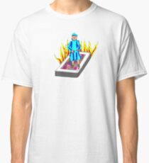 The Boy Stood on the Burning Deck Classic T-Shirt