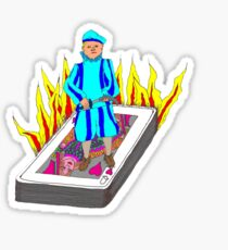 The Boy Stood on the Burning Deck Sticker