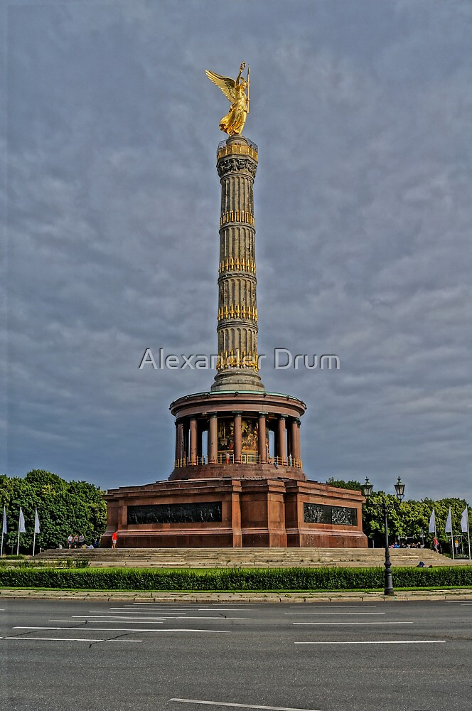 Victory Column of Berlin, HDR photo by Alexander Drum