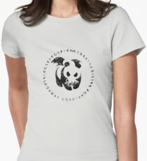 ph'nglui mglw'nafh Women's Fitted T-Shirt