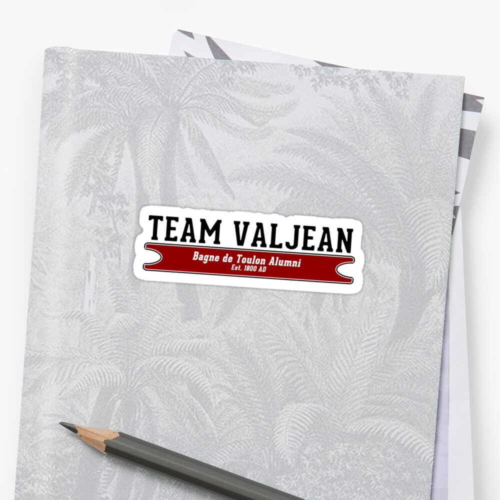 Team Valjean by Harry James Grout