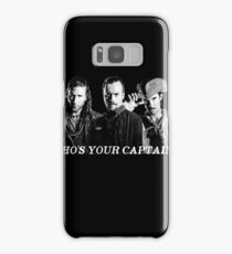 Who's Your Captain? Samsung Galaxy Case/Skin