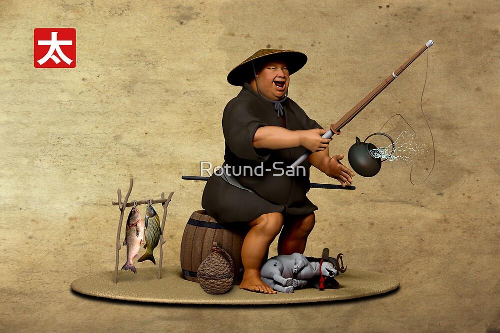 Fish of Legend (landscape version) by Rotund-San