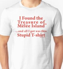 Monkey Island: Treasure of Melee Island Slim Fit T-Shirt