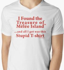 Monkey Island: Treasure of Melee Island Men's V-Neck T-Shirt