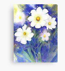 White Cosmos (Purity) Canvas Print