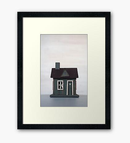 Woodman's Cabin 1 Framed Print