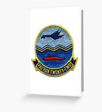 VP-22 - Blue Geese Greeting Card