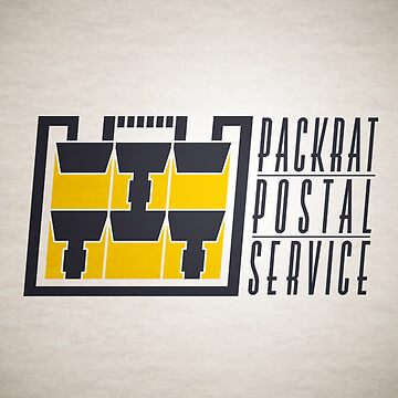 Packrat Postal Service by iamkingler