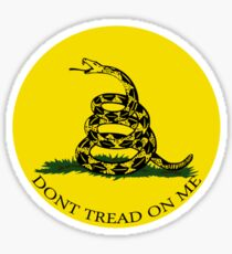 Gadsden Flag Sticker