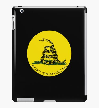 Gadsden Flag iPad Case/Skin