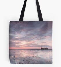 Ribble Remnants Sunset Tote Bag