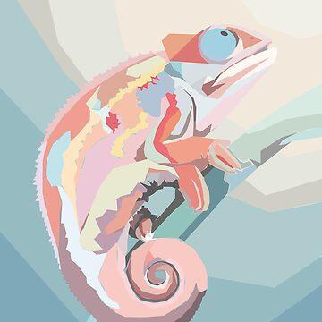 chameleon by ElenaGatsenko