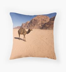 Wadi Rum,Jordan Throw Pillow