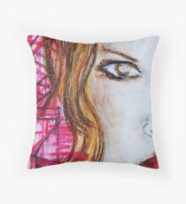 Belfast Woman Throw Pillow
