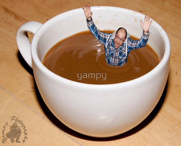 I know i asked for a large coffee................ by yampy