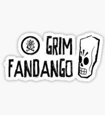 Grim Fandango (Black) Sticker