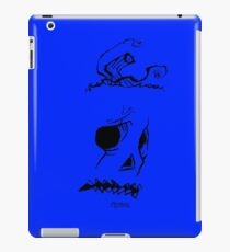 Pumpkinhead - Express Ya Face - Ipad Case - Blue iPad Case/Skin