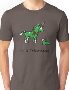 I'm A Triceratops (Unicorn + Narwhals) Unisex T-Shirt