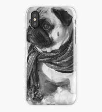 Snow Pug iPhone Case/Skin