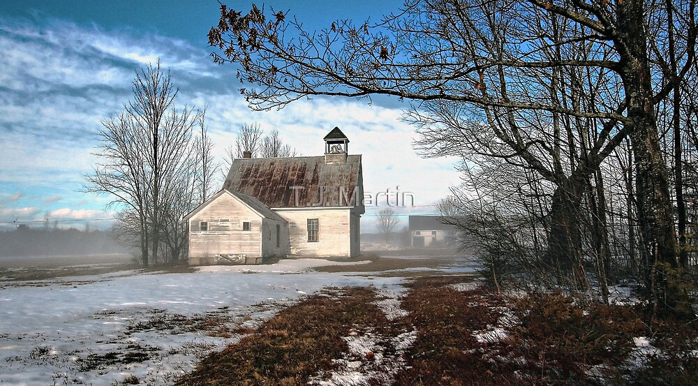 --Maple Ridge Schoolhouse by T.J. Martin
