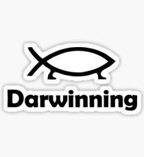 Darwinning Sticker