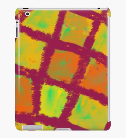 Compartments of light iPad Case/Skin