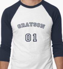 Grayson Up To Bat Men's Baseball ¾ T-Shirt