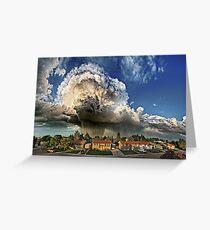 Taber Tornado - Panorama Greeting Card