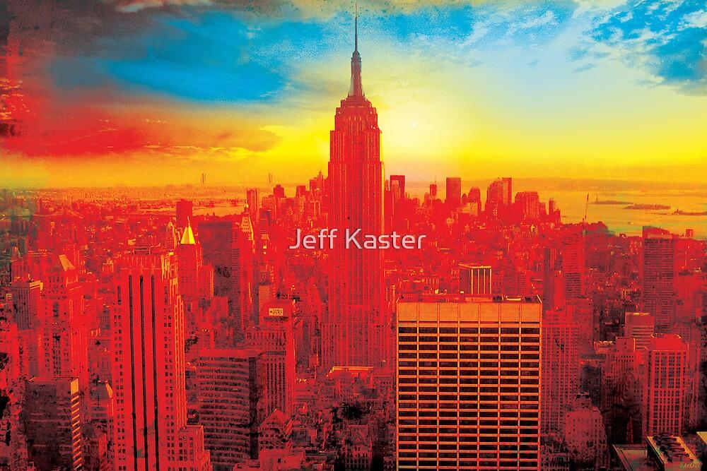 New York City Skyline by Jeff Kaster