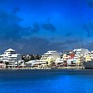 City of Hamilton Bermuda Skyline.... by buddybetsy