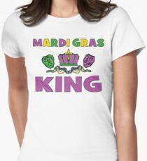 Mardi Gras King Women's Fitted T-Shirt