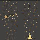 Golden Santa by David & Kristine Masterson
