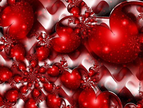 Loving Hearts by rocamiadesign