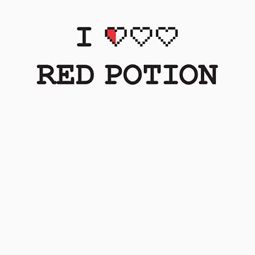I Heart Red Potion by ctlart