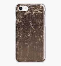 Wrinkle surface of brown Velvet iPhone Case/Skin