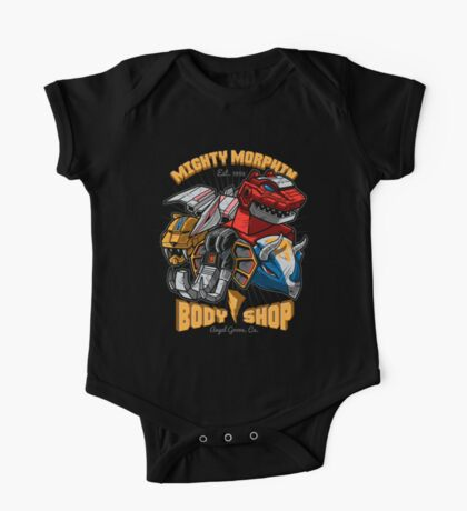 Mighty Morphin Body Shop Kids Clothes