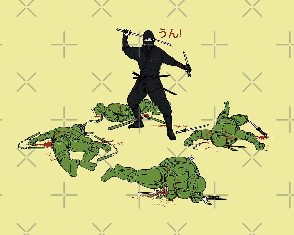 The Real Ninja by pigboom